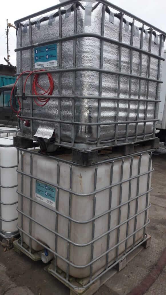 Аренда пластиковой емкости для воды